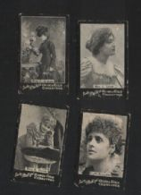 4 old Phillips tobacco insert cigarette cards    #567